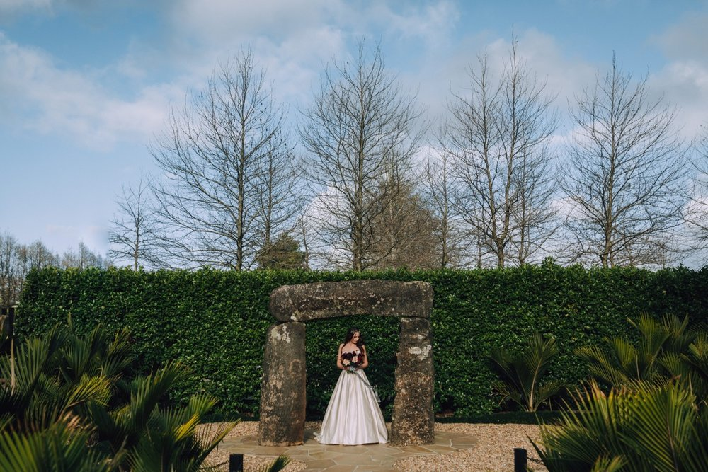 Bridal Gown   Astra Bridal   Maggie Sottero Taiya   Sculpture Park   Photography Greg Campbell