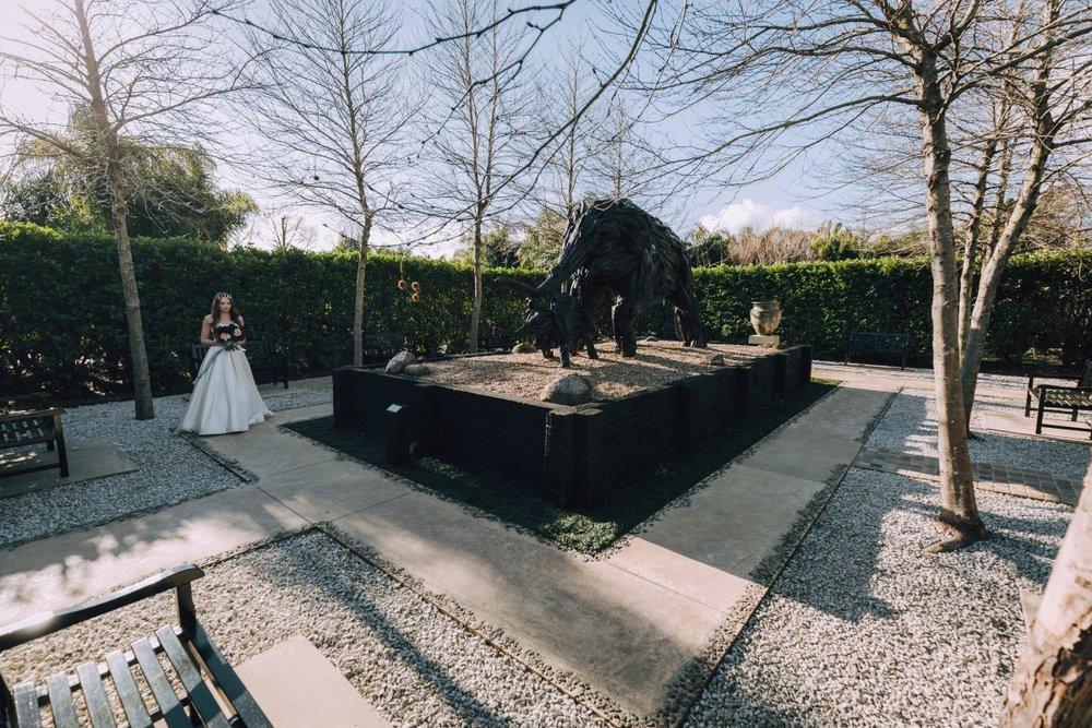 Bridal Dresses | Astra Bridal | Maggie Sottero Taiya | Sculpture Park | Photography Greg Campbell