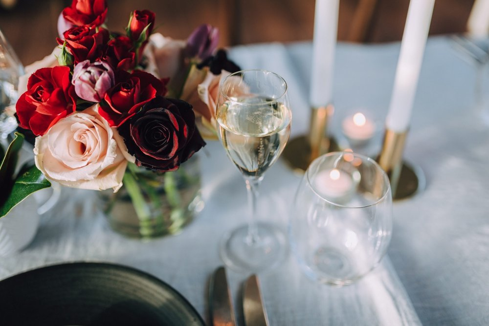 Wedding Table | Astra Bridal | Maggie Sottero Taiya | Sculpture Park | Photography Greg Campbell