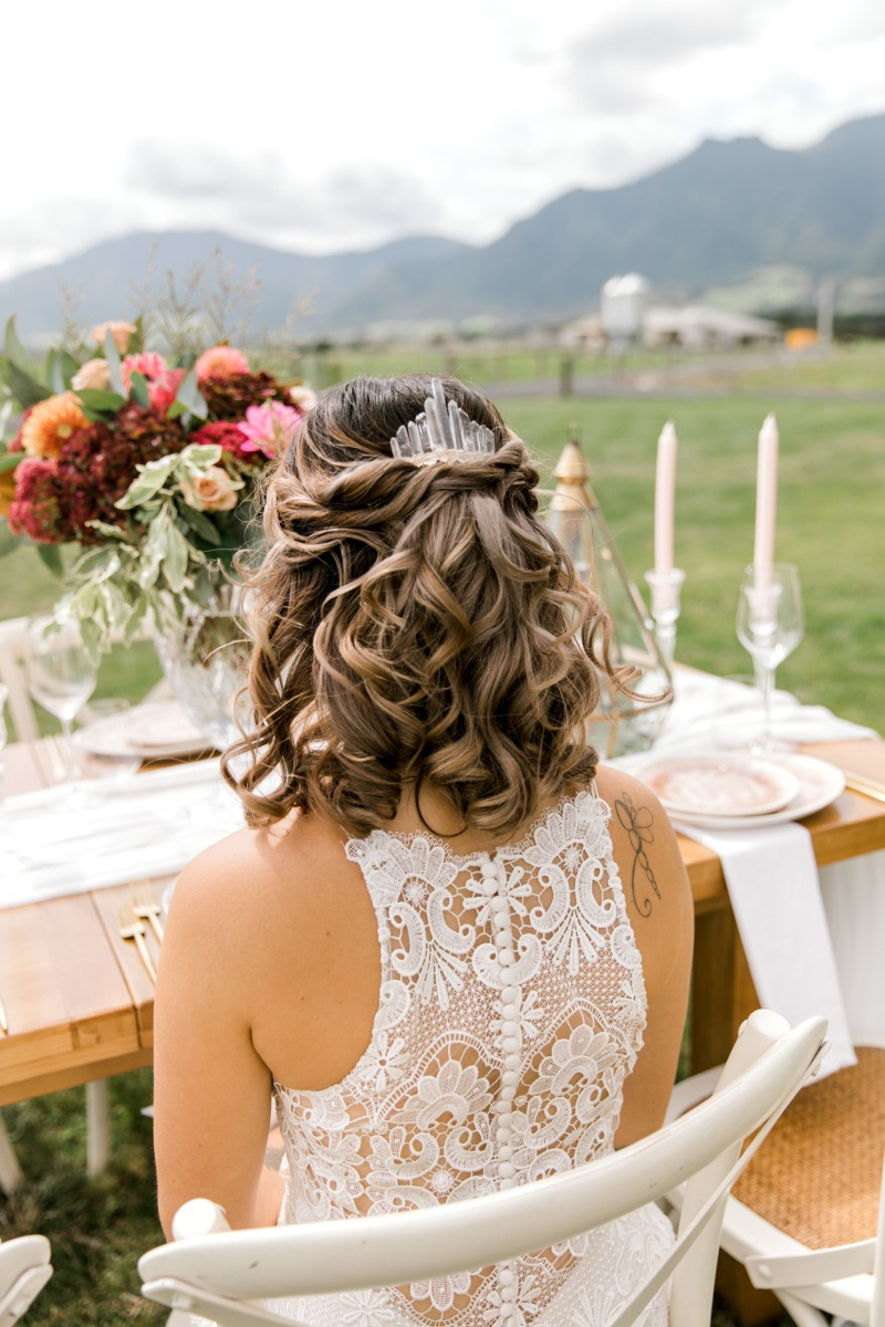 Rustic Wedding | Astra Bridal | Sottero & Midgley - Zayn | matamata country blush styled shoot (C) Sweet Events Photography 2018-1064.jpg