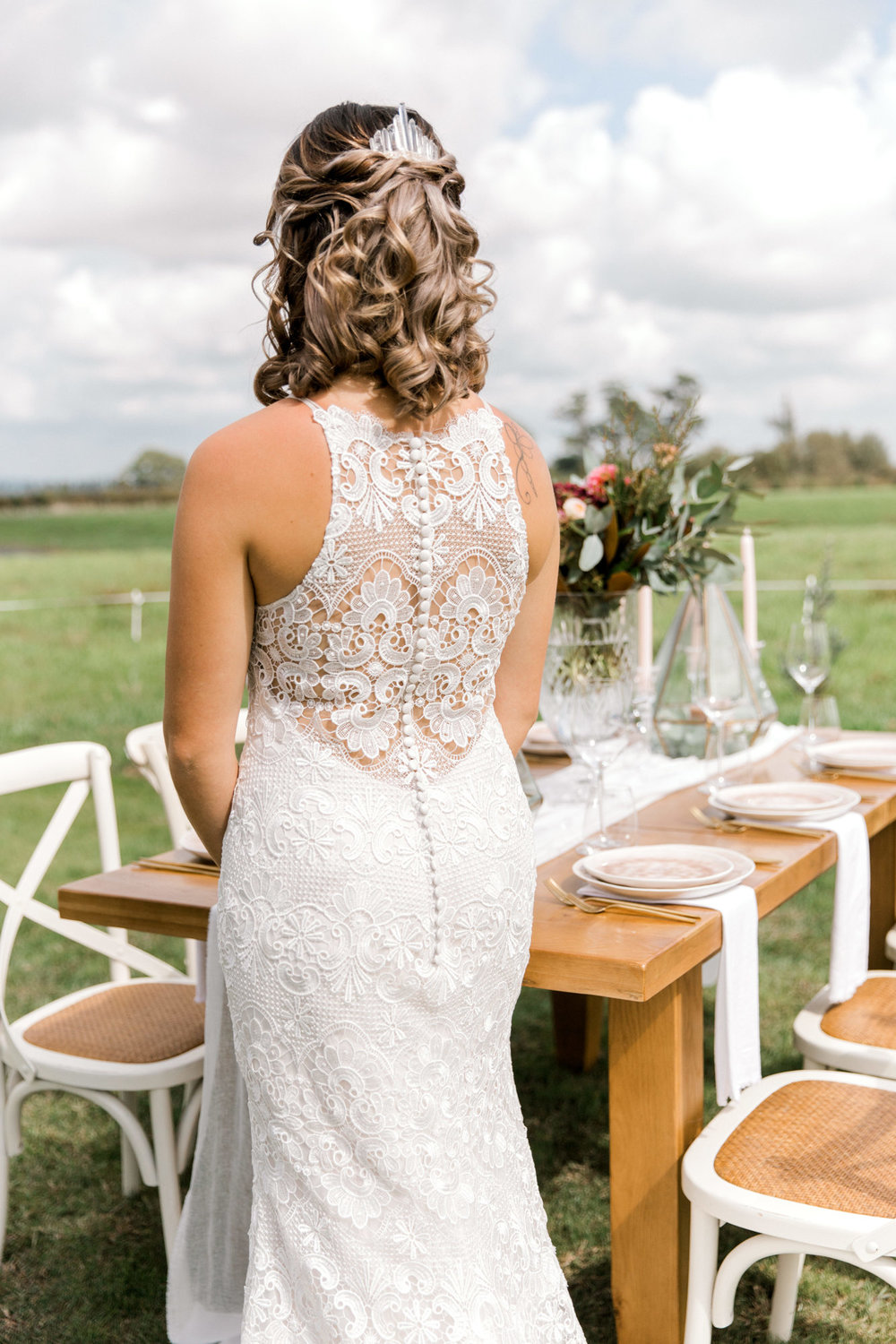 Illusion Lace Back | Astra Bridal | Sottero & Midgley - Zayn | Petal Passion | matamata country blush styled shoot (C) Sweet Events Photography 2018-1064.jpg