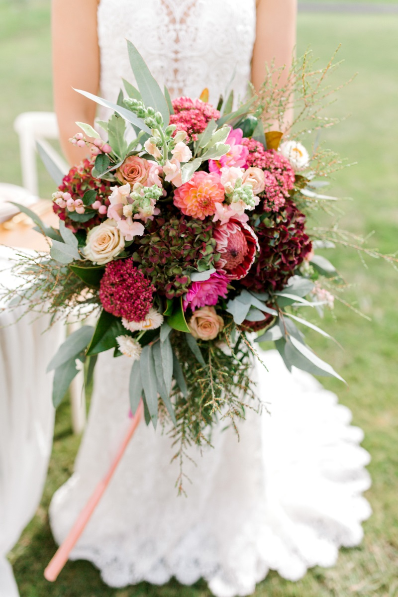 Wedding Floral Design | Astra Bridal | Sottero & Midgley - Zayn | Petal Passion | matamata country blush styled shoot (C) Sweet Events Photography 2018-1064.jpg