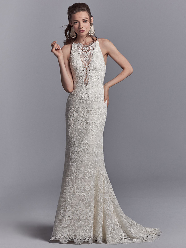 Get The Look... - If you fell in love with the elegant simplicity of Sottero & Midgley's gorgeous gown; 'Zayn,' click the button below to make an appointment to try it on at your nearest Astra Bridal Salon.