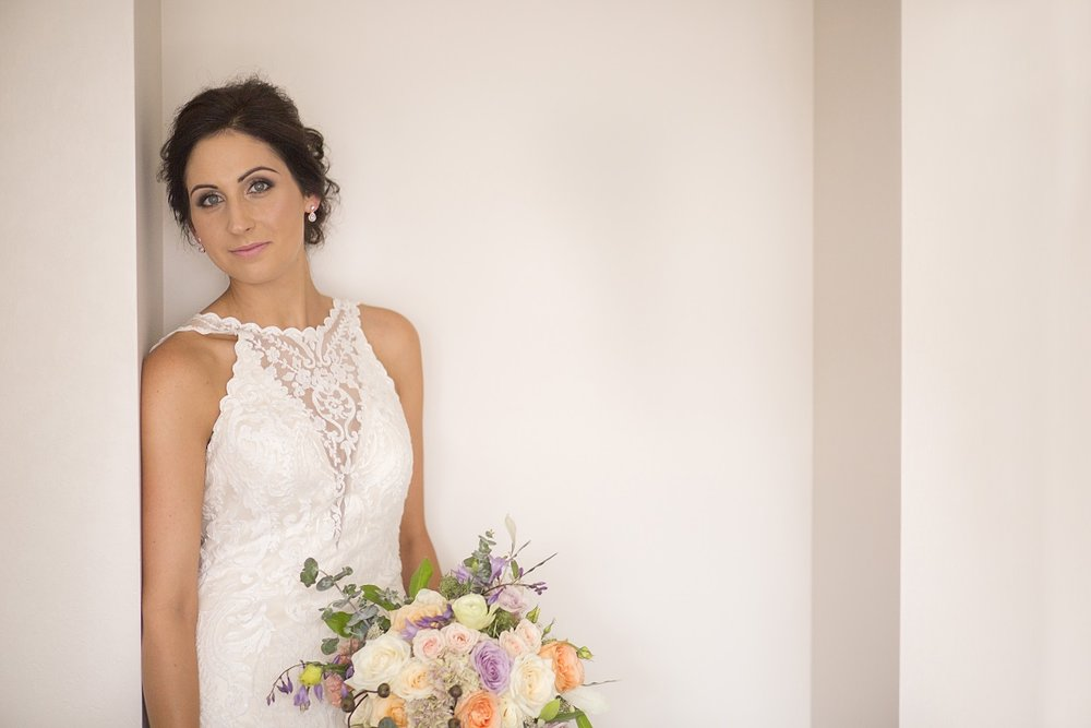 Ivory Lace Wedding Dress | Wharerata Function Centre Wedding | Maggie Sottero – Winifred | Astra Bridal | Fantail Photography
