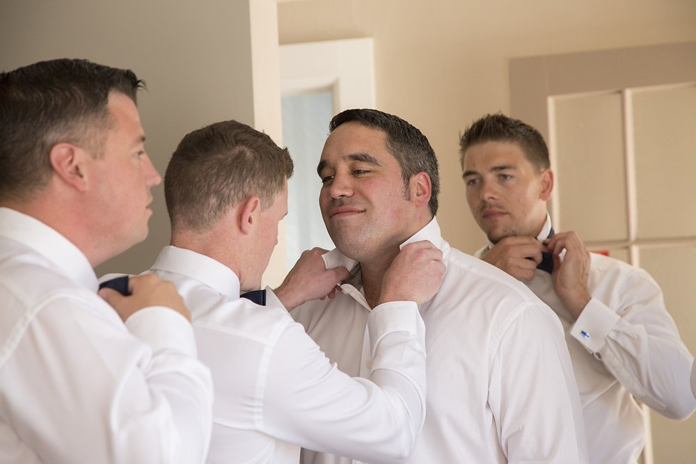 Groomsmen Bow Ties | Wharerata Function Centre Wedding | Maggie Sottero – Winifred | Astra Bridal | Fantail Photography