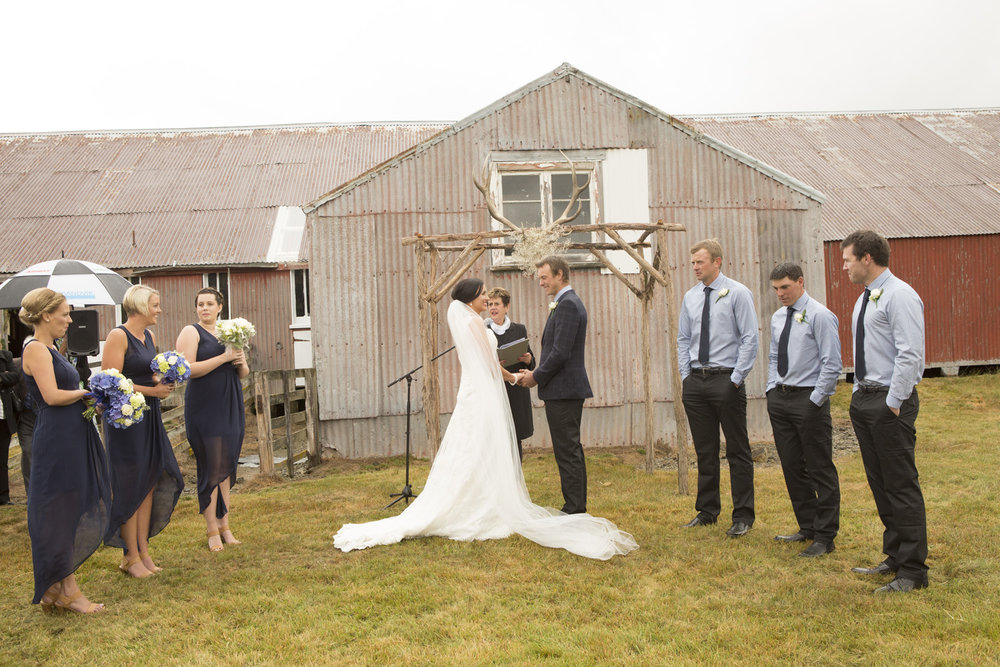 FARM - Getting wed on the family farm is another NZ favourite