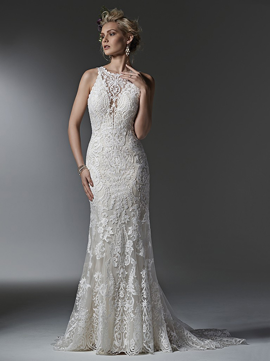 Get The Look... - If you fell in love with the elegant lace and stunning shape of the Sottero and Midgley 'Winifred' gown, click the button below to make an appointment to try it on at your nearest Astra Bridal.