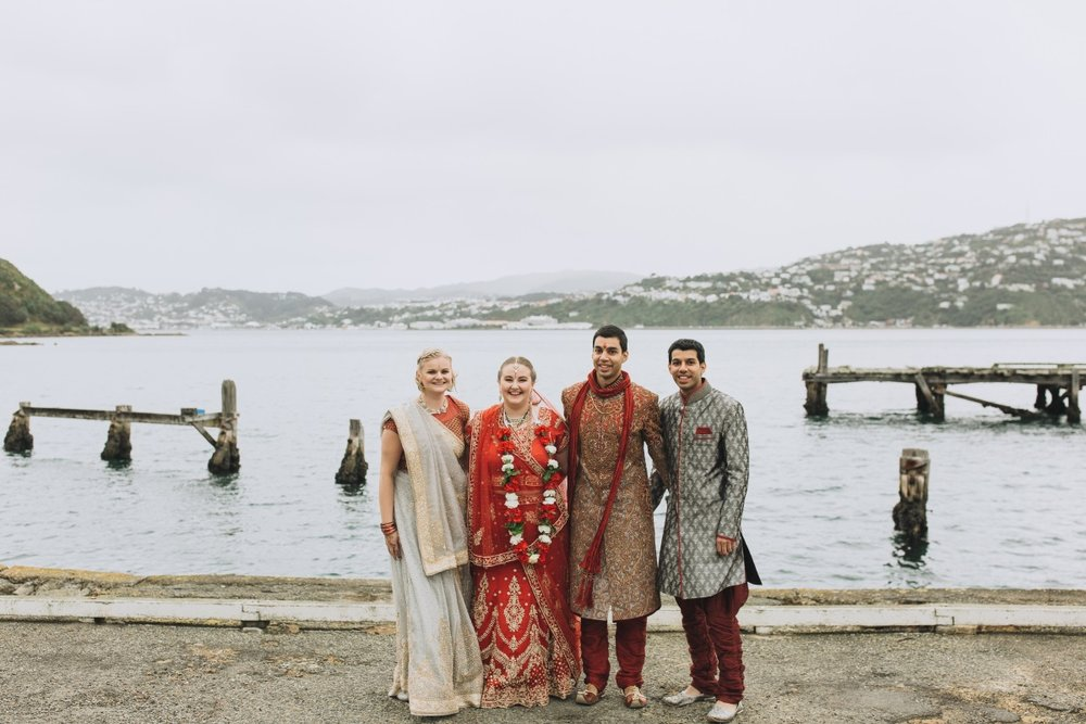 Waterfront Wedding | Indian Wedding | Bonny 1420 | Astra Bridal | Candy Capco Photography