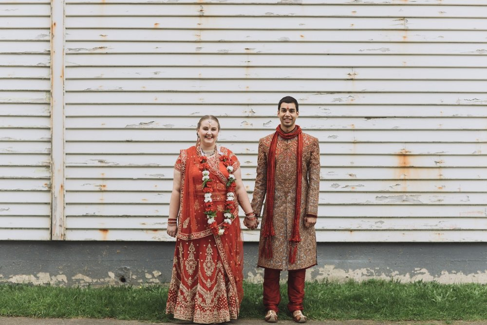 Kiwi Bride and Hindu Groom | Indian Wedding | Bonny 1420 | Astra Bridal | Candy Capco Photography
