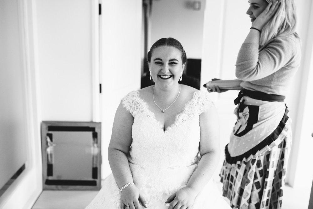 V-neck Wedding Gown | Plus Sized Bride | Classic Urban Wedding | Indian Wedding | Bonny 1420 | Astra Bridal | Candy Capco Photography