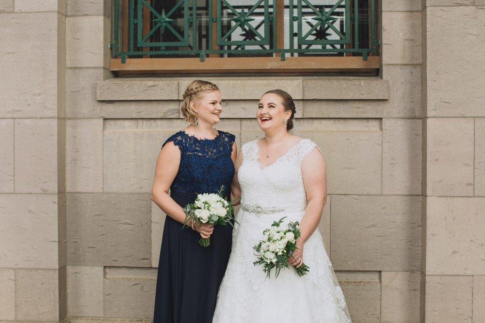 Navy Lace Bridesmaid Dress | Classic Urban Wedding | Indian Wedding | Bonny 1420 | Astra Bridal | Candy Capco Photography