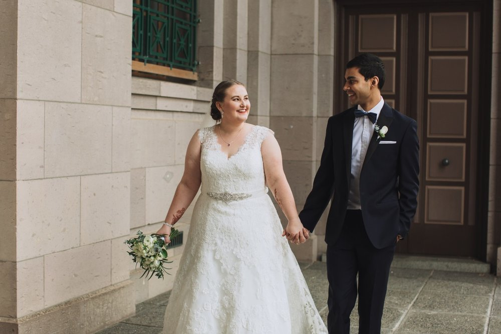 Cross Culture Wedding | Classic Urban Wedding | Indian Wedding | Bonny 1420 | Astra Bridal | Candy Capco Photography