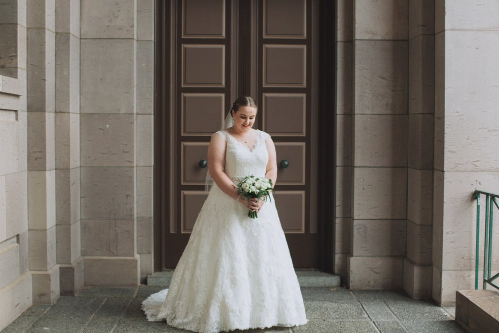 Classic Wedding Gown | Classic Urban Wedding | Indian Wedding | Bonny 1420 | Astra Bridal | Candy Capco Photography
