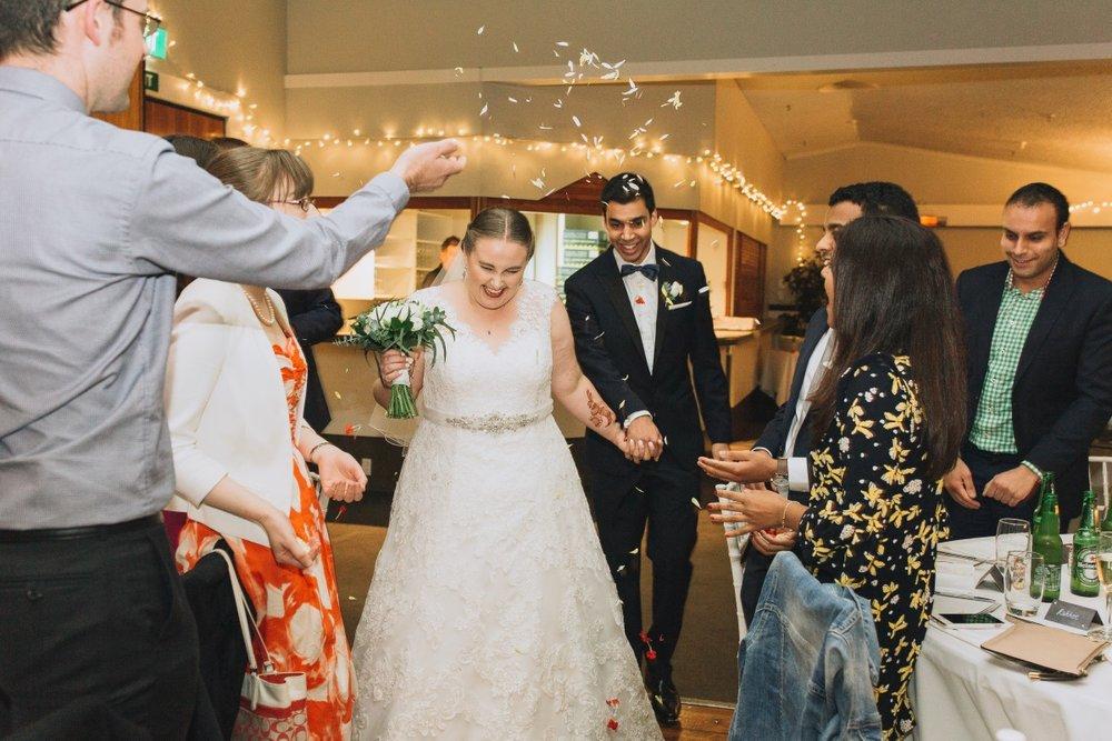 Wedding Confetti | Classic Urban Wedding | Indian Wedding | Bonny 1420 | Astra Bridal | Candy Capco Photography