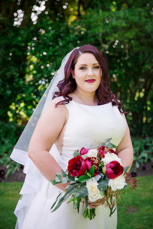 Beautiful Bride in her wedding dress | Astra Bride Lauren