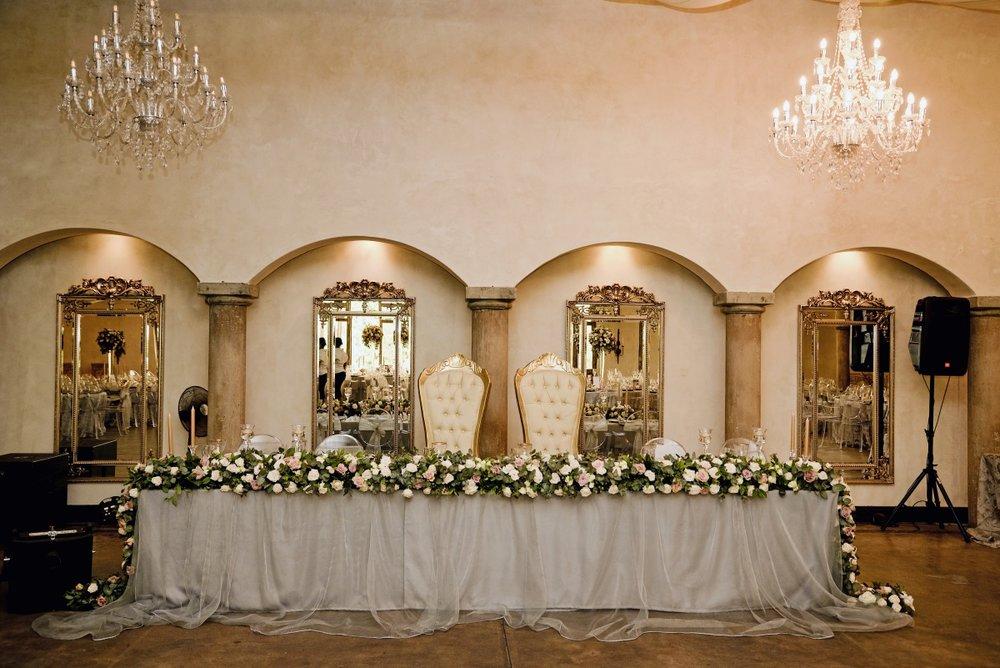 Head Table | Astra Bridal | Maggie Sottero | Avianto Estate | Little White Ribbon Photography