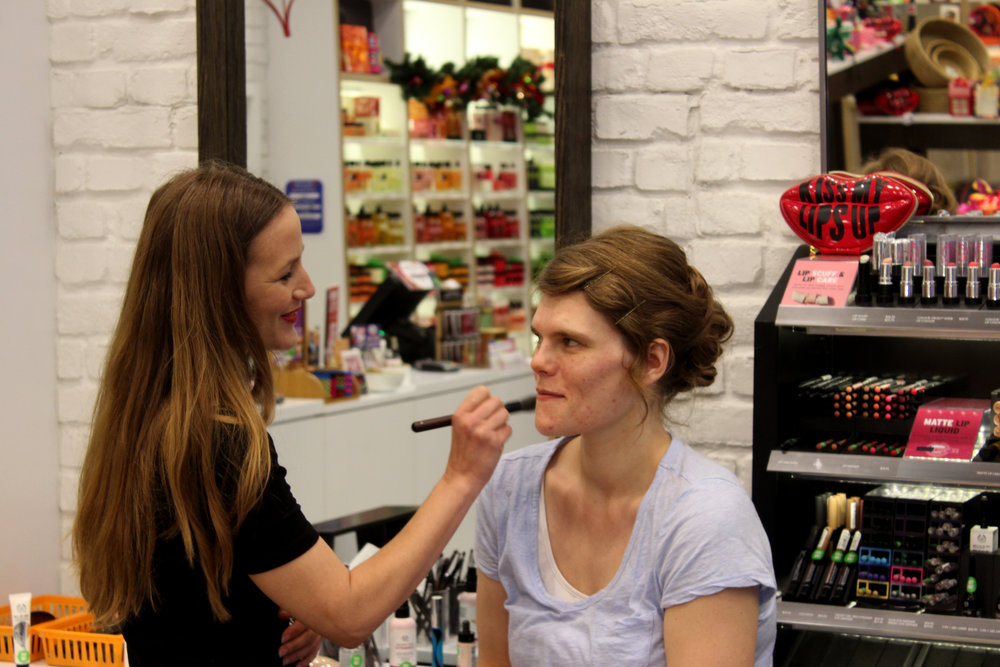 Body Shop Bridal Makeup | Astra Bridal | Christina Rossi | Hamilton Airport and Conference Centre