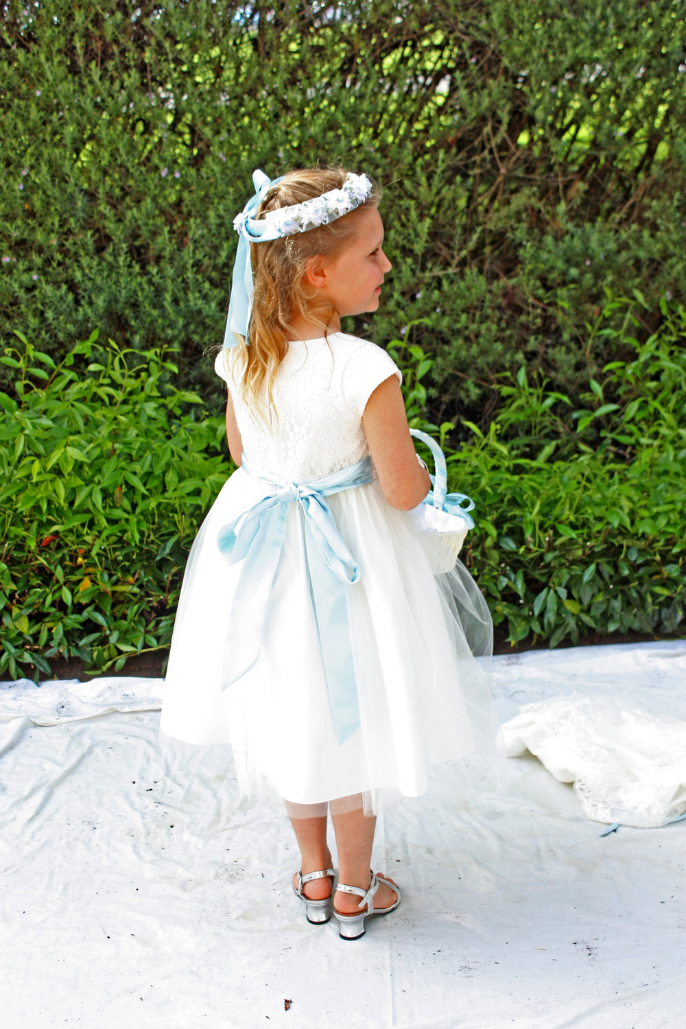 Penny Flowergirl | Astra Bridal | Christina Rossi | Hamilton Airport and Conference Centre