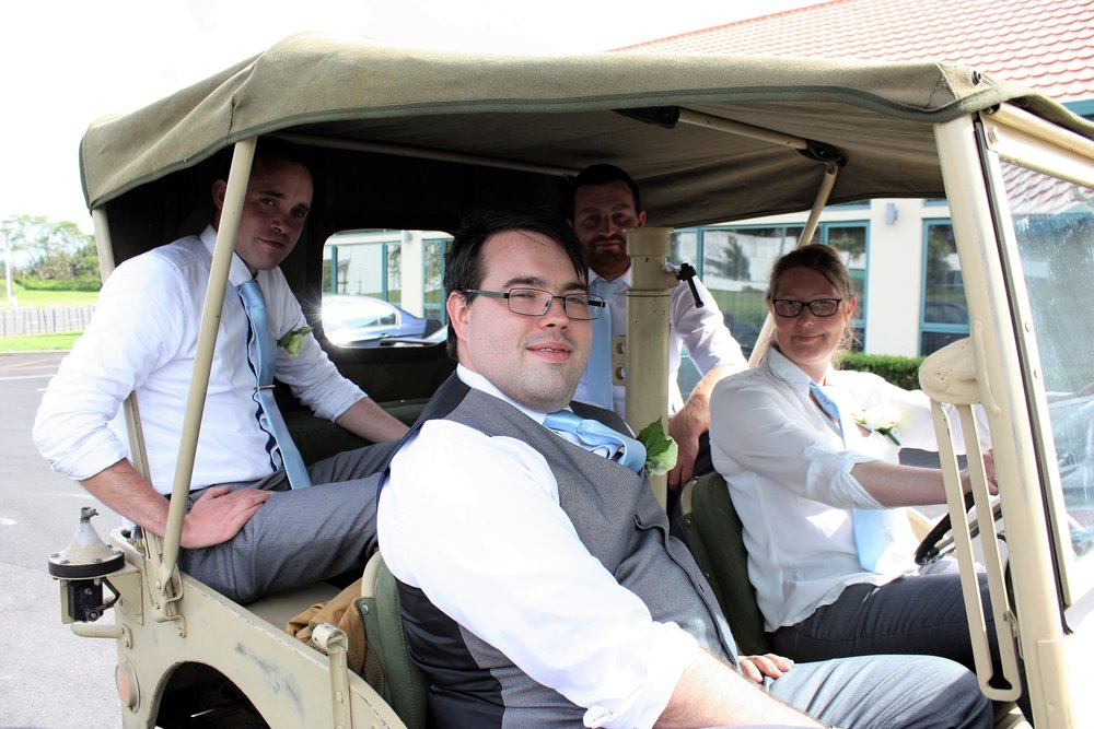 Groom | Golf Cart | | Astra Bridal | Christina Rossi | Hamilton Airport and Conference Centre