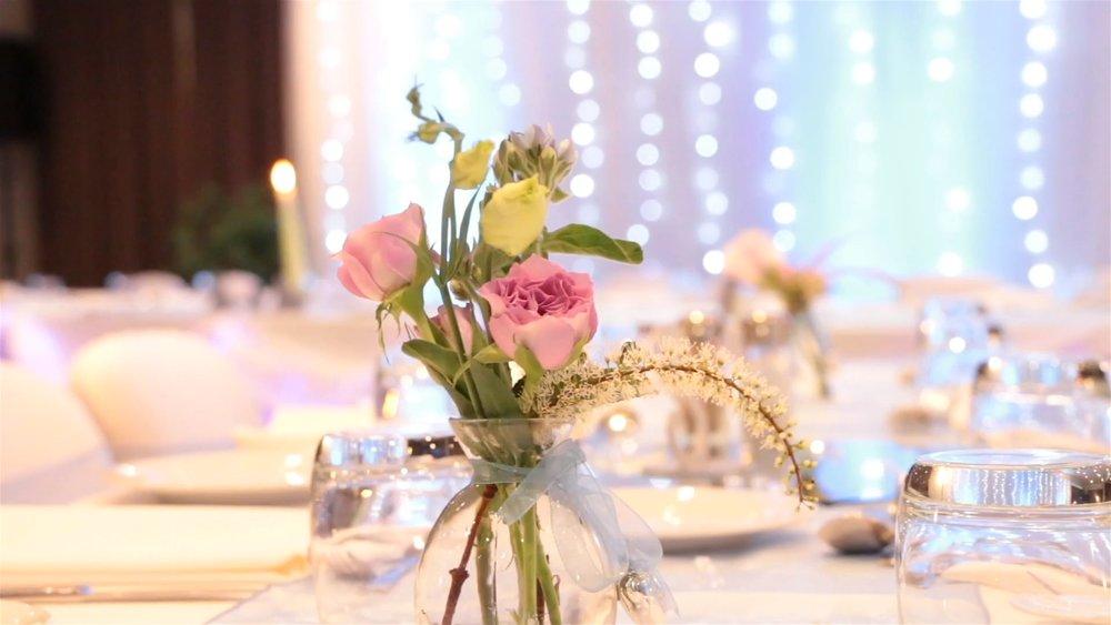 Reception Table Decor | Astra Bridal | Christina Rossi | Hamilton Airport and Conference Centre