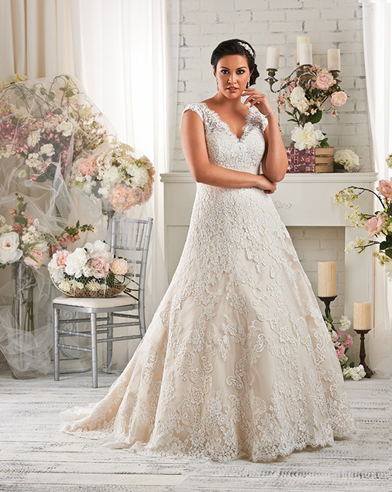 Get The Look... - If you were stunned by the gorgous fit and detail of Alison's gown; Bonny 1420, click the link below to make an appointment at your nearest Astra Bridal to try it on.