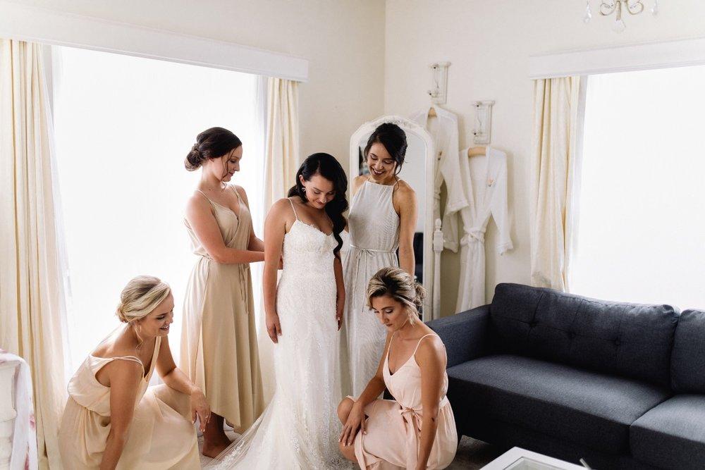 Bridesmaid Dresses | Maggie Sottero - Nola | Astra Bridal | Bride and Groom Winner | Stephan and Nakita Photography