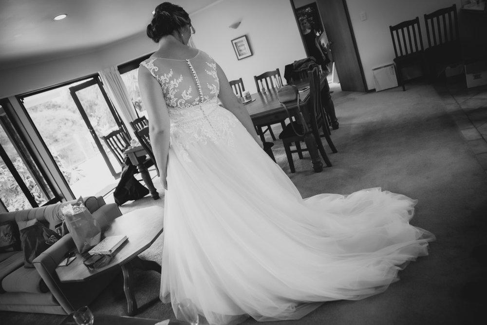 Illusion Lace Back Wedding Gown | Bonny Bridal - 630 | Astra Bridal | Puketona Farms, Puketona, Bay of Islands| GDR Photography