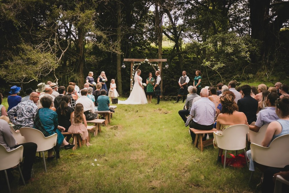 Farm Wedding | Wooden Arch | | Bonny Bridal - 630 | Astra Bridal | Puketona Farms, Puketona, Bay of Islands| GDR Photography