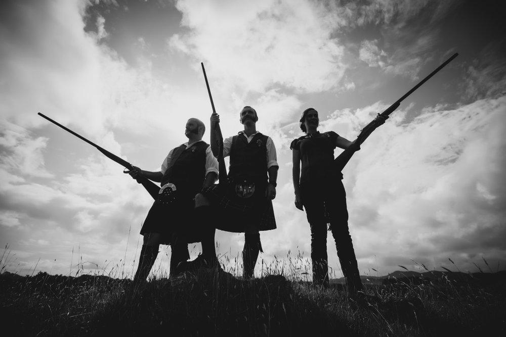 Groomsmen | Hunters | Kilts | Bonny Bridal - 630 | Astra Bridal | Puketona Farms, Puketona, Bay of Islands| GDR Photography
