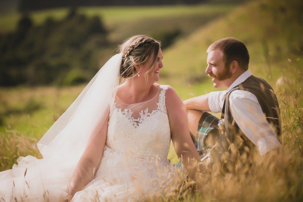 Bridal Veil | Groom in a Kilt | Bonny Bridal - 630 | Astra Bridal | Puketona Farms, Puketona, Bay of Islands | GDR Photography