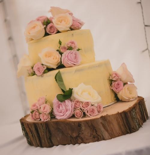 Wedding Cake | Bonny Bridal - 630 | Astra Bridal | Puketona Farms, Puketona, Bay of Islands| GDR Photography