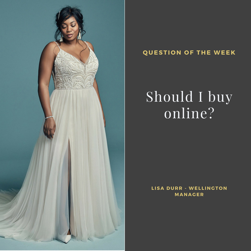 Should I buy a wedding gown online? — Borrowed & Blue - NZ Wedding ...