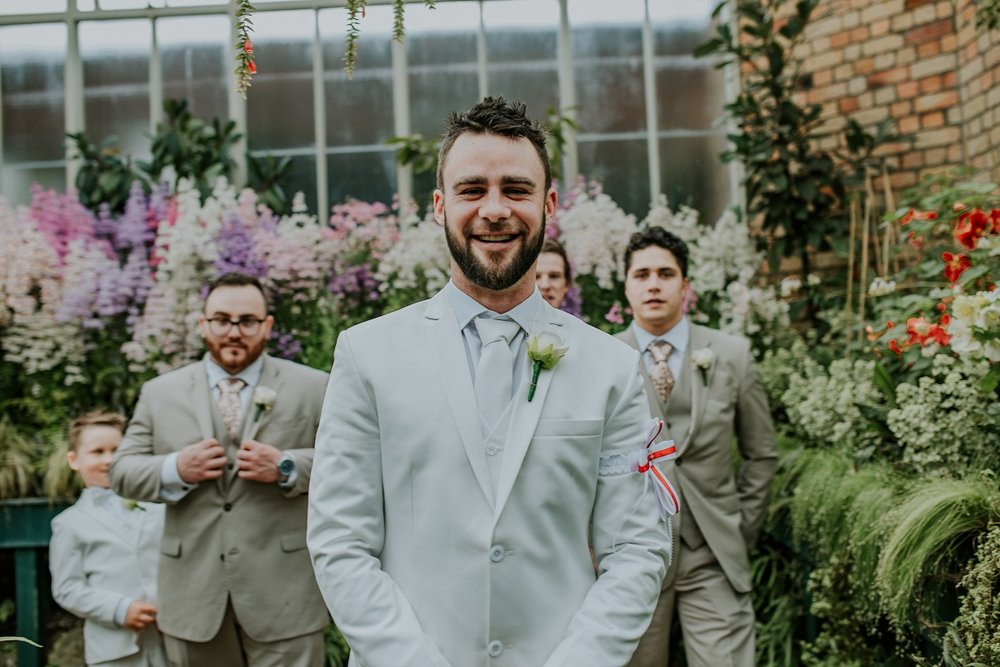 The Groom | Outlet Bride Marium