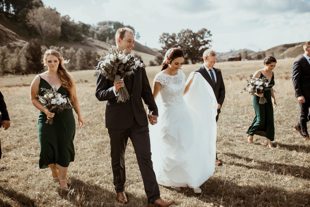 White wedding dress | Rustic Country Wedding | Maggie Sottero | Astra Bridal | David Le Photography