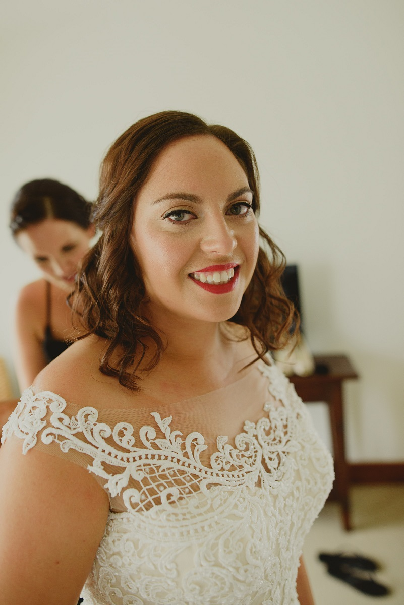 The finishing touches | Astra Bride Alecia