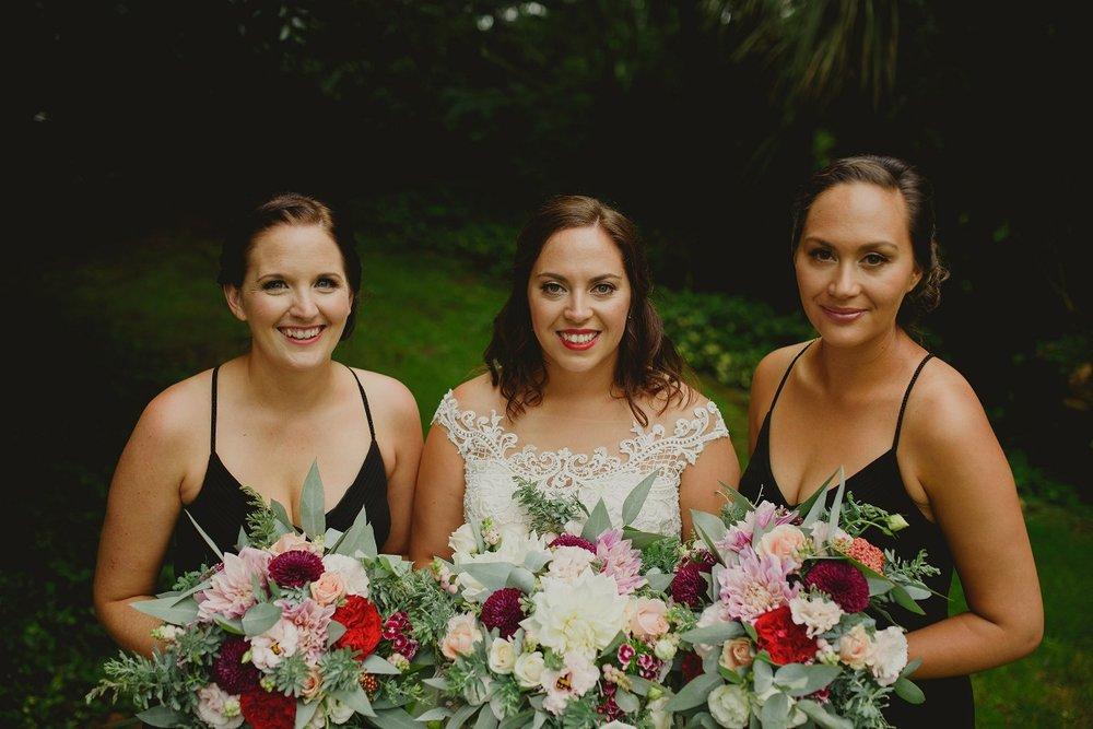 The Bride & Bridesmaids | Astra Bride Alecia