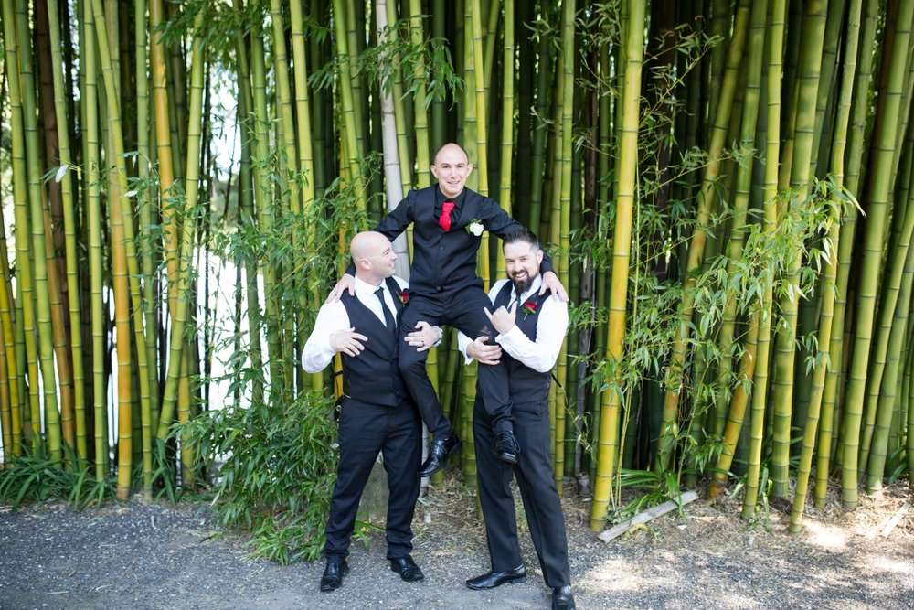 Groomsmen suits | Astra Bridal | Christina Rossi | Fountain Gardens, Te Puna | Jackie O Photography