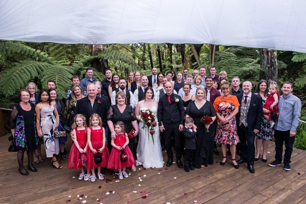 Garden Wedding Party   Astra Bridal   Christina Rossi   Fountain Gardens, Te Puna   Jackie O Photography