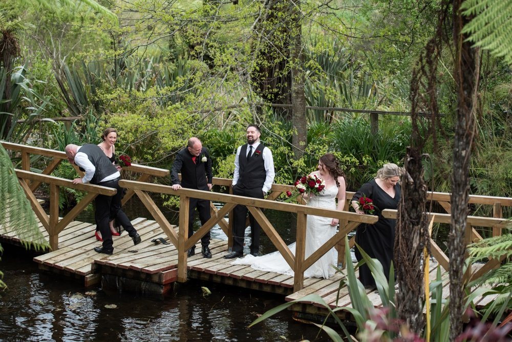 Lily pond Wedding | Astra Bridal | Christina Rossi | Fountain Gardens, Te Puna | Jackie O Photography