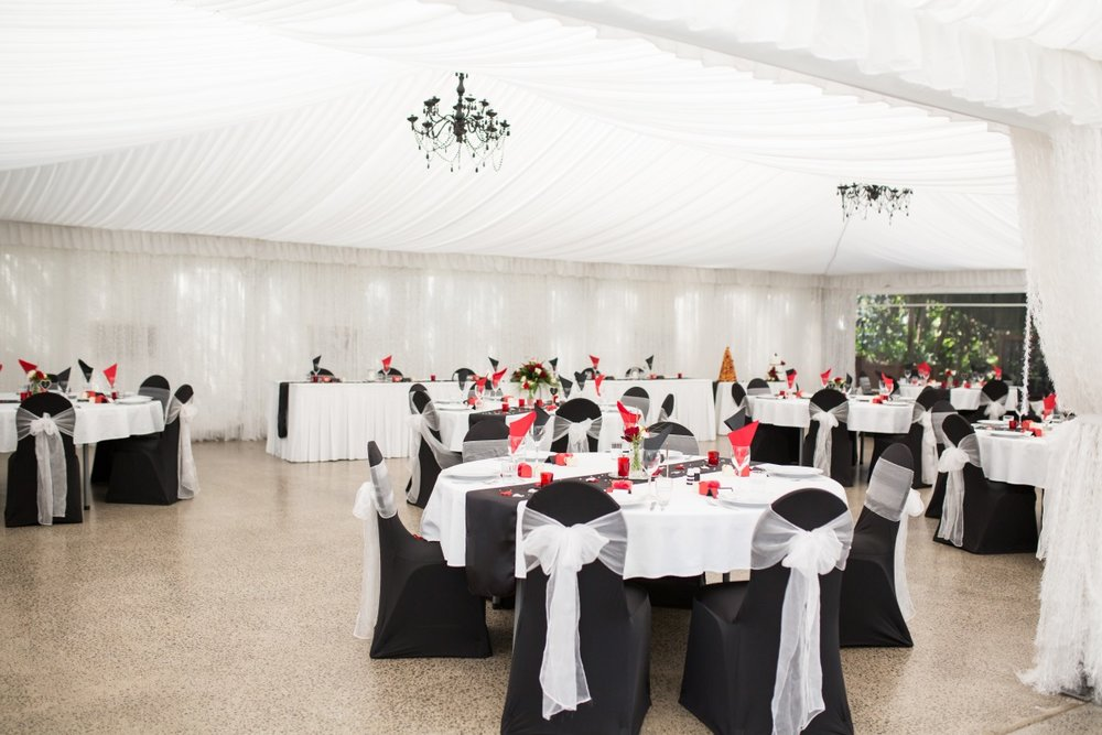 Wedding Reception Decor   Astra Bridal   Christina Rossi   Fountain Gardens, Te Puna   Jackie O Photography