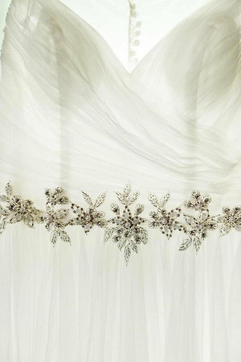 Beaded wedding dress | Astra Bridal | Maggie Sottero | The Boatshed Café, Karapiro | Jay Drew Photography