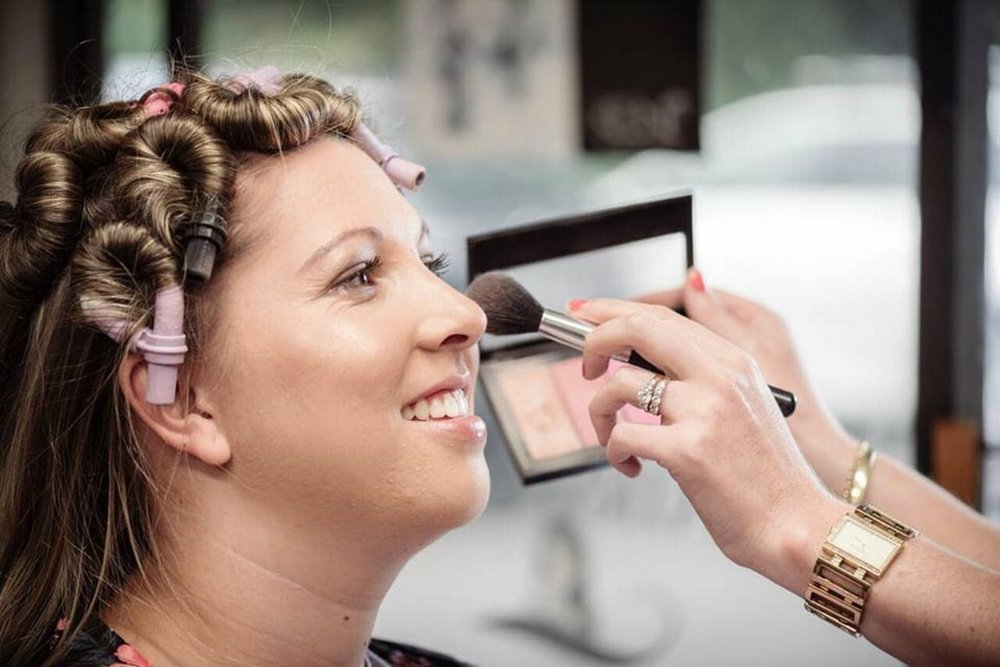 Bridal Makeup | Astra Bridal | Maggie Sottero | The Boatshed Café, Karapiro | Jay Drew Photography