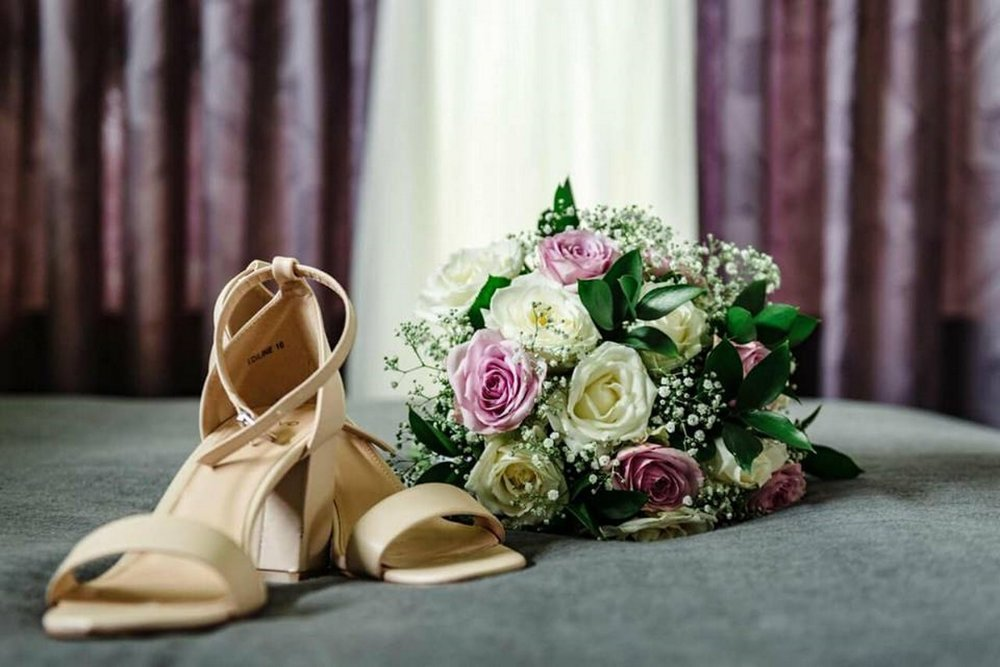 Wedding Heels | Astra Bridal | Maggie Sottero | The Boatshed Café, Karapiro | Jay Drew Photography