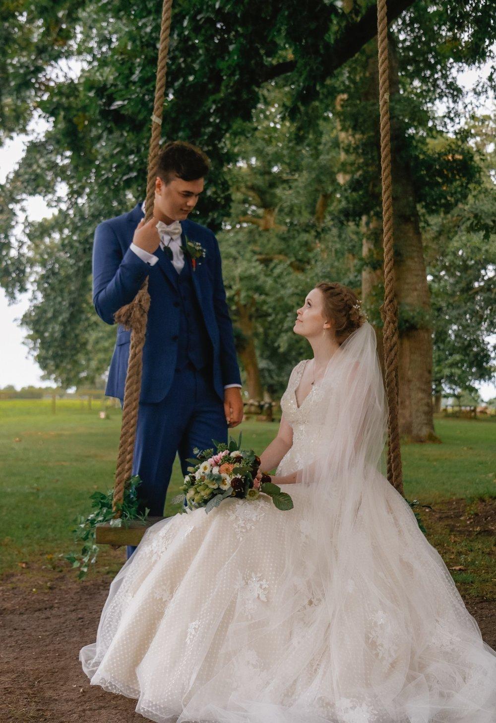Mr & Mrs Hippolite | Astra Bride Jessica