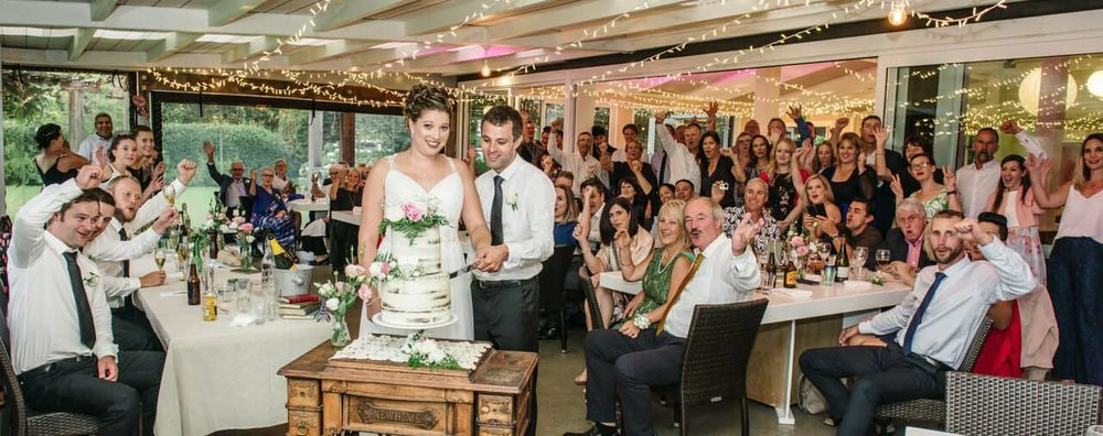 Rustic Wedding Reception | Astra Bridal | Maggie Sottero | The Boatshed Café, Karapiro | Jay Drew Photography