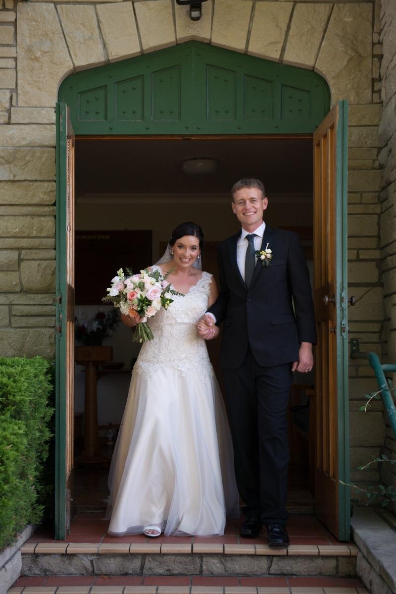 Bride and Groom | Astra Bridal | Christina Rossi | Black Barn Winery | Shar Hays Photography
