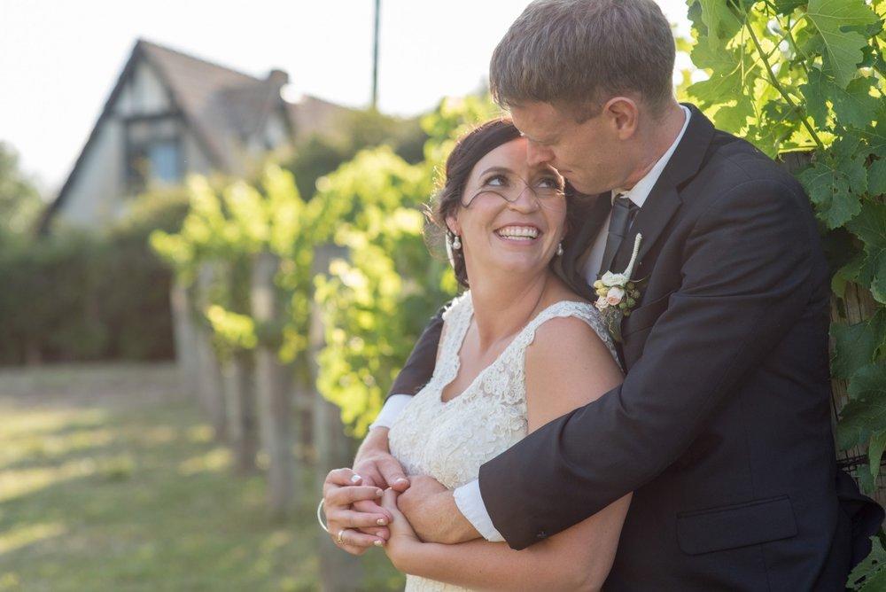 Ivory Lace Wedding Dress | Astra Bridal | Christina Rossi | Black Barn Winery | Shar Hays Photography