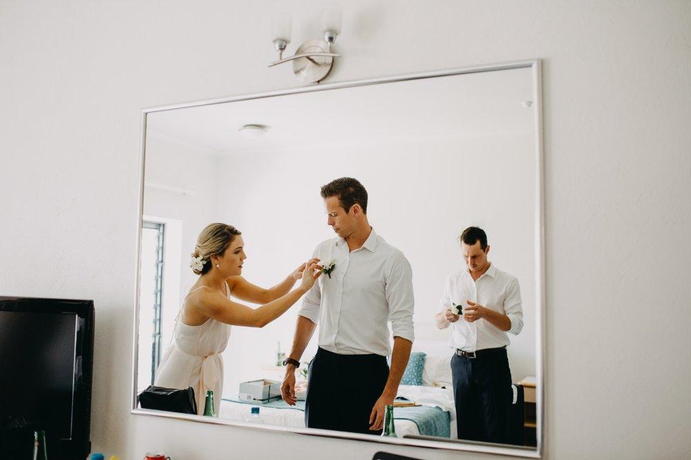 Groom Prep | Astra Bridal | Sottery & Midgley | Muri Beach Club Hotel | Alex King Photography