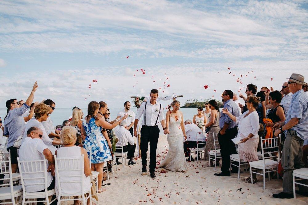 Rose Petal confetti | Astra Bridal | Sottery & Midgley | Muri Beach Club Hotel | Alex King Photography