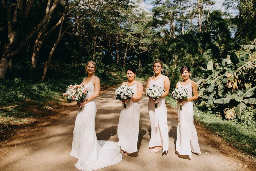Blush Bridesmaids Dresses | Astra Bridal | Sottery & Midgley | Muri Beach Club Hotel | Alex King Photography